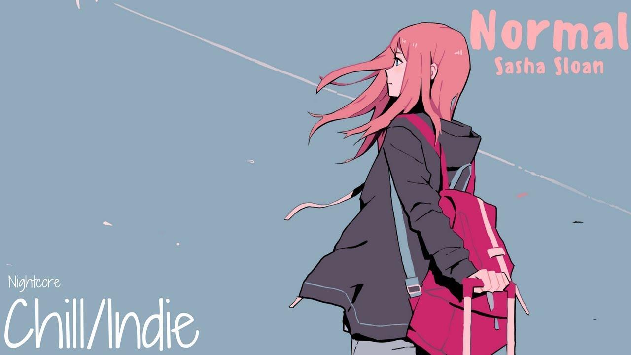 Nightcore → Normal (Lyrics)