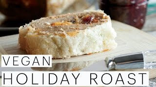 Holiday Menu Ideas | VEGAN Vegetarian Holiday Roast Recipe | Seitan | Sweet Potato Mash | Edgy Veg