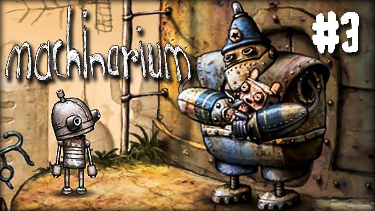 Machinarium игровые автоматы играют в карты в дурака