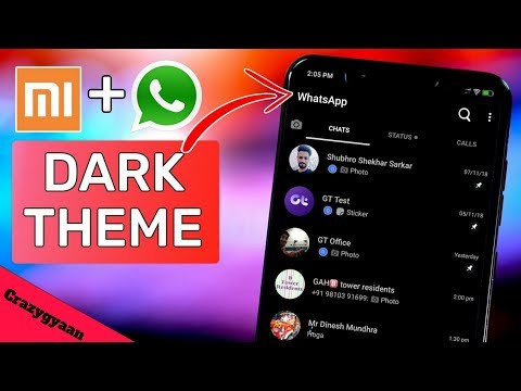 How To Enable Dark Mode In Any Whatsapp It's Very Easy Setting | 2019