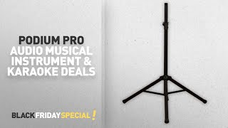 Walmart Top Black Friday Podium Pro Audio Musical Instrument & Karaoke Deals: Podium Pro SS1 PA, DJ,