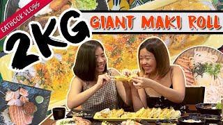 2kg Giant Maki Roll   Eatbook Vlogs   EP 63
