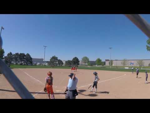 Nebraska Quakes Kudym (5-7-17) vs Hastings Crush 13U