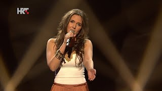 "Ema: ""A Song For You"" - The Voice of Croatia - Season1 - Live1"