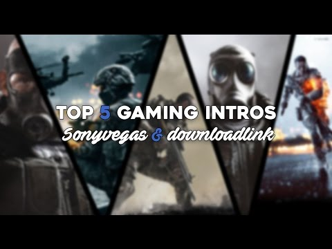 (Best) TOP 5 FREE Gaming Intro (SonyVegas) Templates+(Thanks For 1k Subs! )