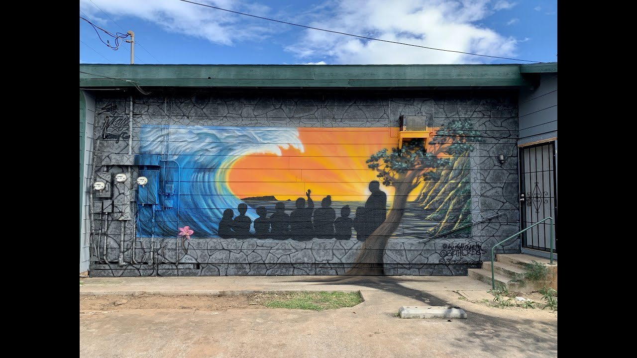 """""""Ask Tutu"""" - Resilience Mural - Kekaha, HI - 2020"""