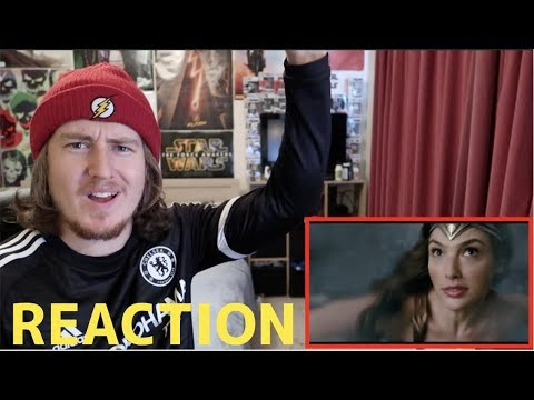 Justice League Movie Clip - Wonder Woman to the Rescue REACTION!!!