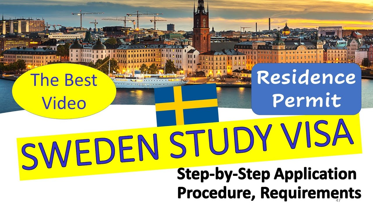 Sweden Student Visa | Residence Permit | How to Apply ? | Study in Sweden - YouTube