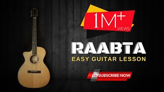 RAABTA Song - Guitar For Beginners | Easy Acoustic Guitar Lessons | Online Music Tutorial