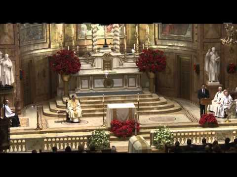 Gov. Andrew Cuomo Gives Eulogy at Mario Cuomo's Funeral
