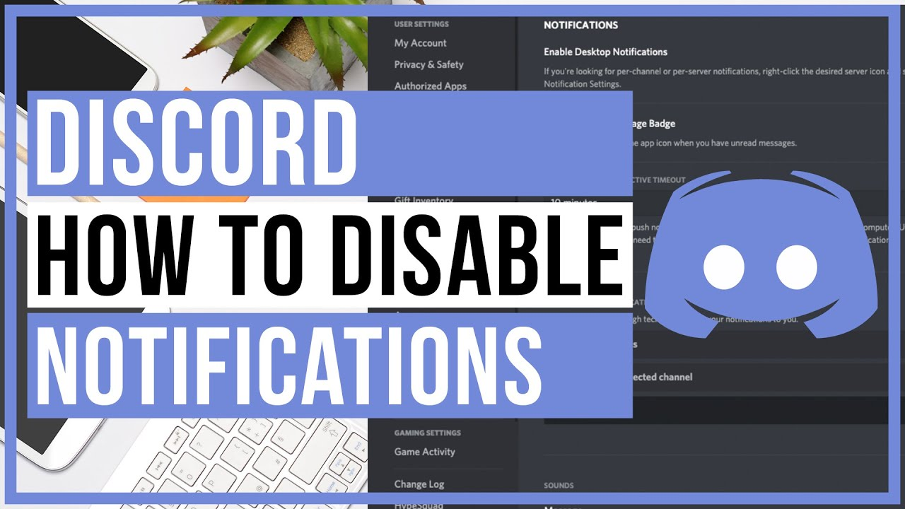 Discord - How To Disable Notifications