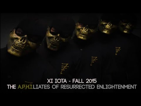 Xi Iota Chapter of Alpha Phi Alpha - Fall 2015 Probate