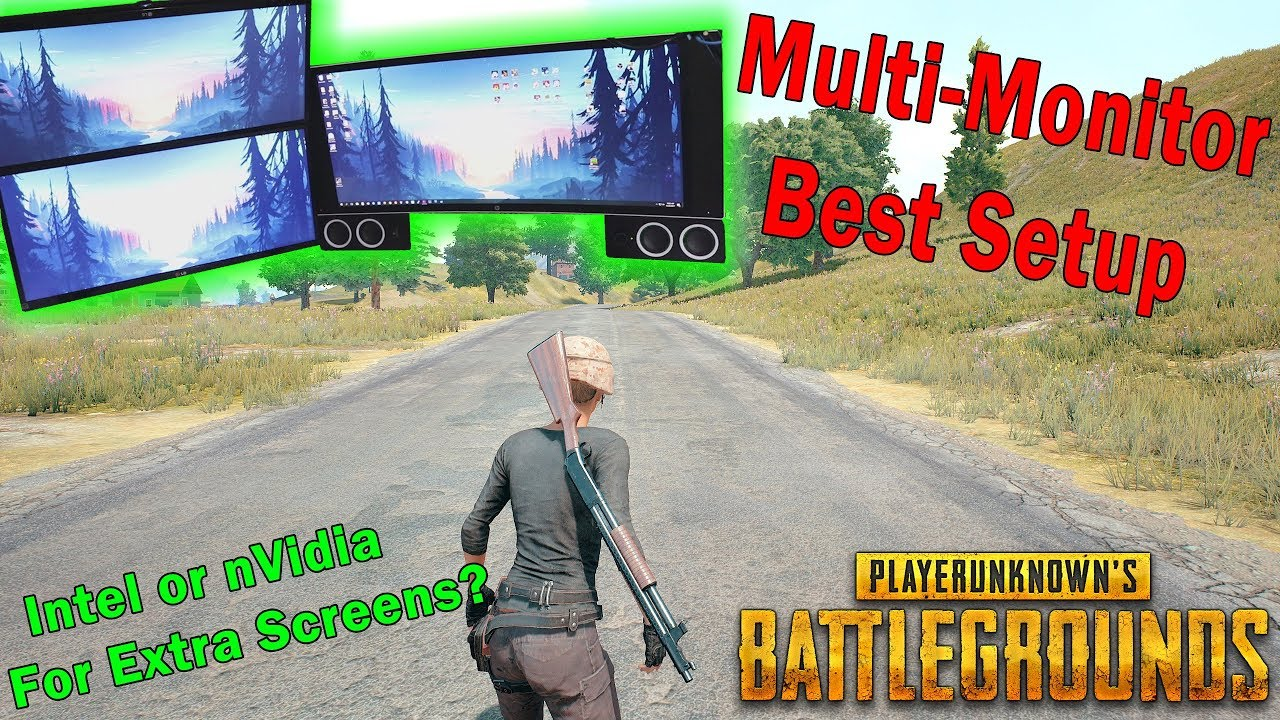 PUBG FPS Guide   Best Multi Monitor Setup To Boost FPS (Placing Extra  Screens On Internal Graphics)