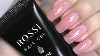 Polygel Nails Using Dual forms on MYSELF Tutorial | Rossi Kit Review