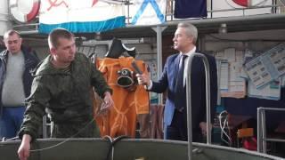 Обучение водолазов-сварщиков в Морской школе ДОСААФ России