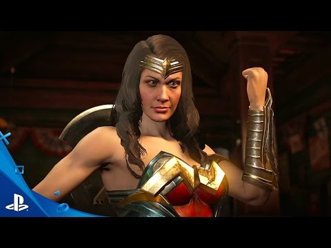Injustice 2 - Official Wonder Woman and Blue Beetle Trailer | PS4