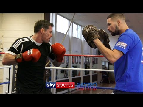 Jamie Carragher boxing
