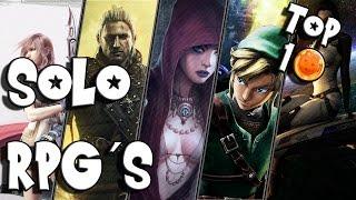 ▼ Top 10 Singleplayer RPGs ▼ Die besten Solo Rollenspiele
