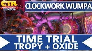 Crash Team Racing Nitro Fueled - Clockwork Wumpa - Oxide & Tropy Time Trial