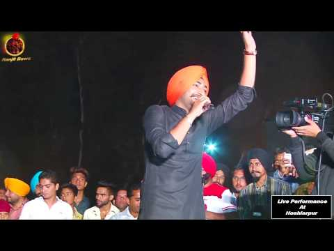 RANJIT BAWA | JEAN | LIVE PERFORMANCE AT HOSHIARPUR 2015 | OFFICIAL FULL VIDEO HD