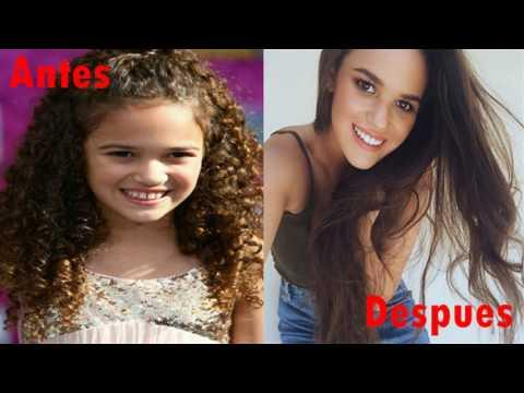 Estrellas de Disney Antes y Después 2016