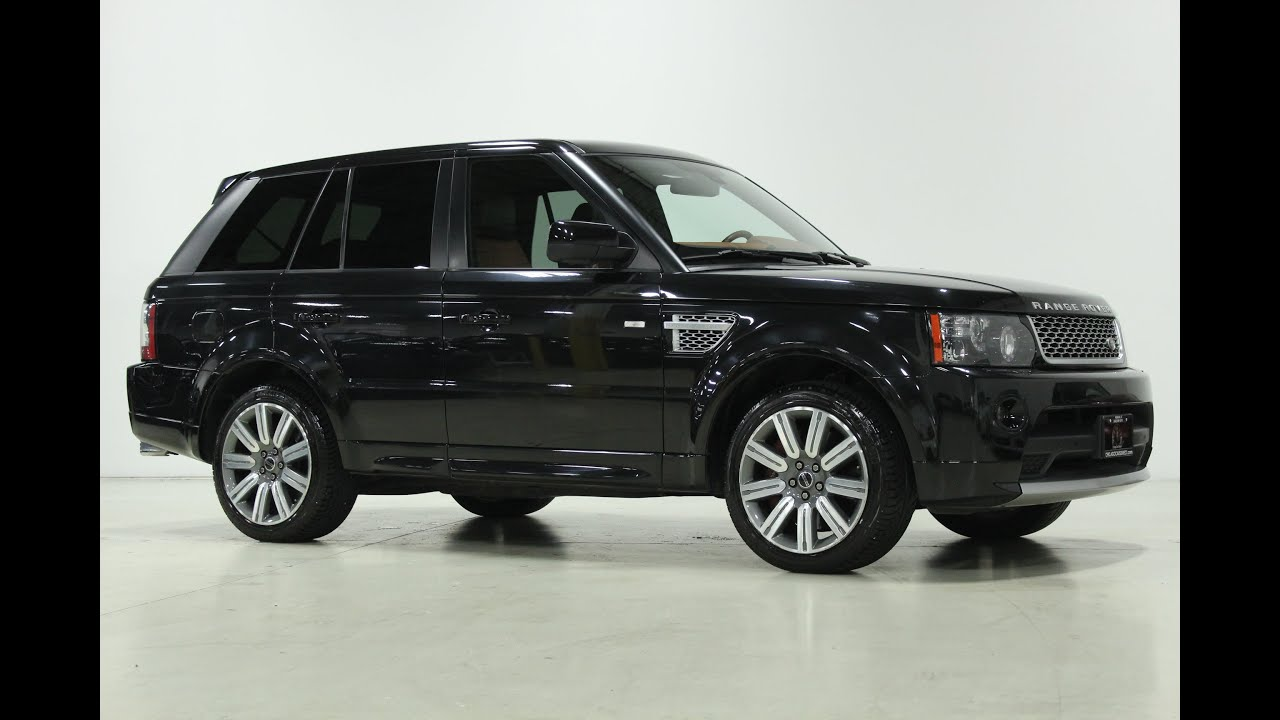 chicago cars direct presents a 2013 land rover range rover sport supercharged autobiography. Black Bedroom Furniture Sets. Home Design Ideas