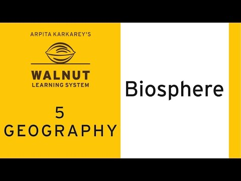 5 Geography - Biosphere