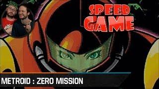 Speed Game - Metroid : Zero Mission - Fini avec 9% d'objets collectés
