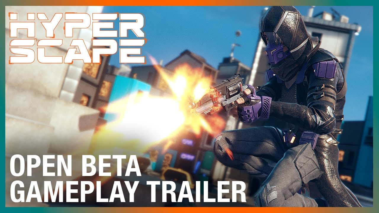 Hyper Scape: Open Beta Gameplay Trailer | UbiFWD July 2020 | Ubisoft NA