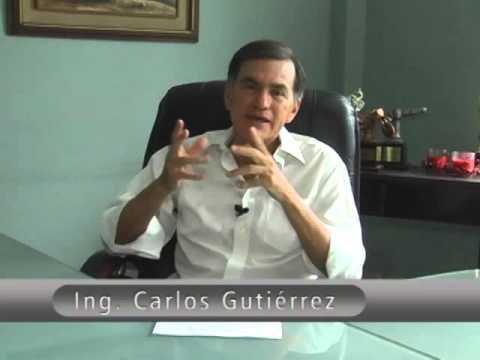 Aclaración del Ing  Carlos Gutiérrez