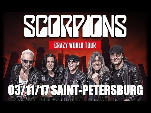 Scorpions 03/11/17 Saint-Petersburg Russia Full Show Live HD