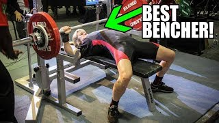 World's Best Bench Presser Reveals Secret To Lifting More Weight