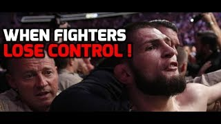 WHEN FIGHTERS LOSE CONTROL... #BOXING #MMA