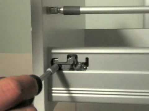 C mo ajustar un cajon de un mueble de cocina normal alta - Cajones de cocina ikea ...