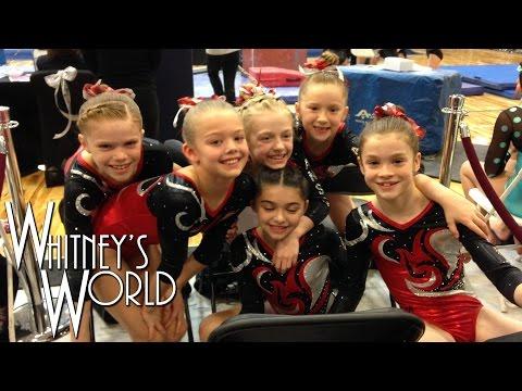 Whitney Bjerken Level 4 Team State Gymnastics Meet