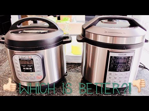 The Battle of The Pressure Cookers! | Cosori or Instant Pot?!