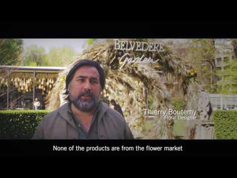 Floral Designer Thierry Boutemy Debuts Installation at Belvedere Garden during Milan Design Week