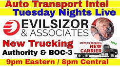 Evilsizor: New Motor Carrier MC#, USDOT, Broker Authority & File BOC-3