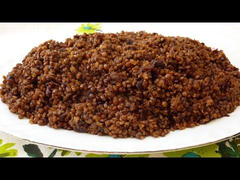How to Make Mjaddra (Mujaddara) - A Healthy Lentils Dish