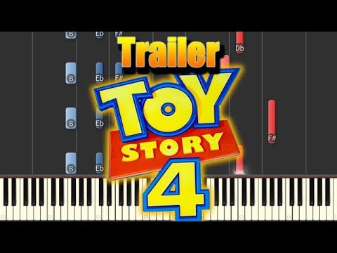 🎵 God Only Knows (Official Trailer Music) - Toy Story 4 [Piano Tutorial] thumbnail