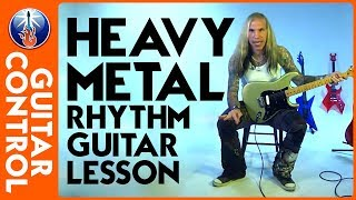 Rhythm Guitar Lesson: How To Play Heavy Rhythm Guitar Patterns Using Triplets