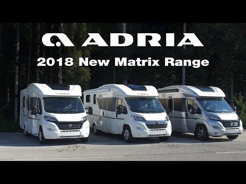 2018 New Adria Matrix Range Product video