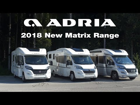 2018 New Adria Matrix Range Product video