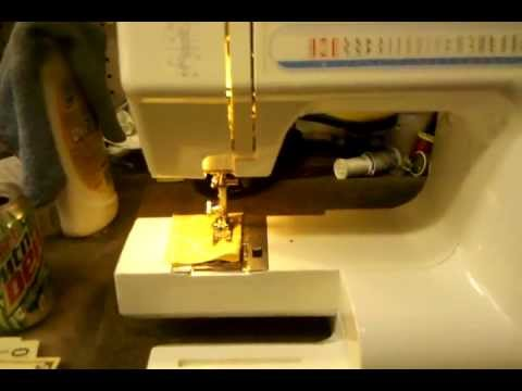 How To Thread A Janome School Mate Schoolmate S40 Sewing Custom How To Thread A New Home Sewing Machine