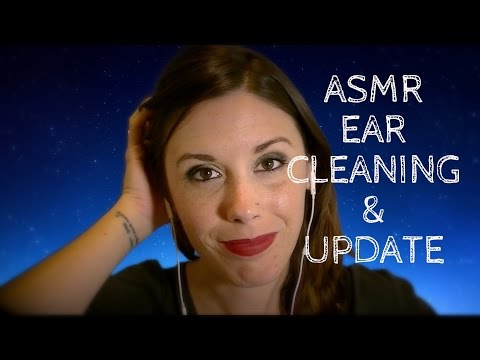 Binaural ASMR Ear Cleaning & Update - Trigger Requests Please!