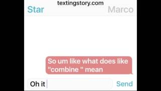 starco texting does he like me ep6
