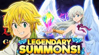 LEGENDARY 1ST YEAR ANNIVERSARY SUMMONS! Seven Deadly Sins: Grand Cross