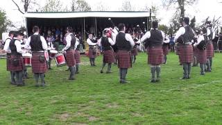 Police Service of Northern Ireland Pipe Band Lisburn 2013