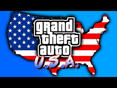 GTA USA MAP MOD! - ALL Grand Theft Auto Cities In One Game! (Grand Theft Auto USA)