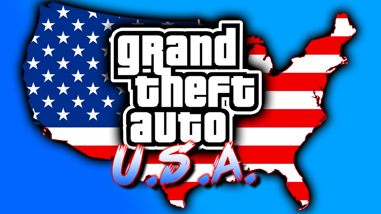 Map Of Usa Game.Gta Usa Map Mod All Grand Theft Auto Cities In One Game Grand